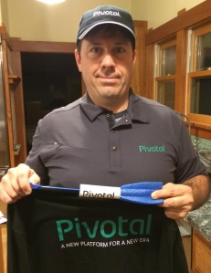 On brand with Pivotal Software...